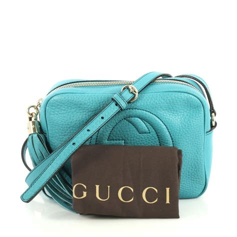 gucci soho disco crossbody bag leather small  stdibs
