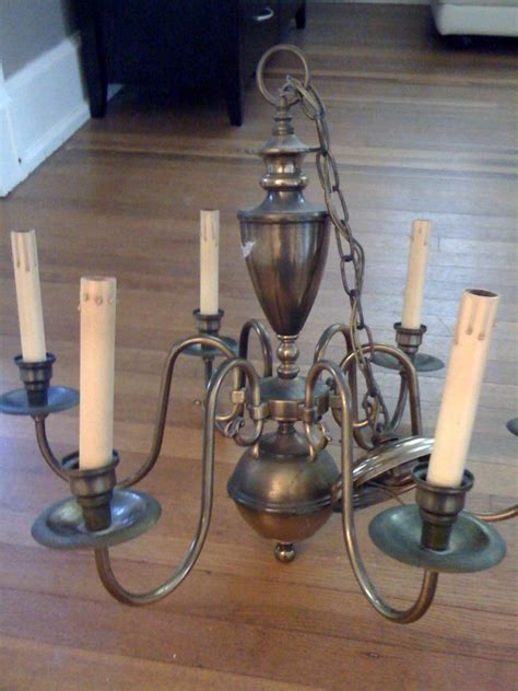 a must tutorial how to paint a brass chandelier