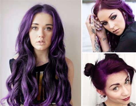 couleur de l ée 2018 tendance coloration tout savoir sur les cheveux violets