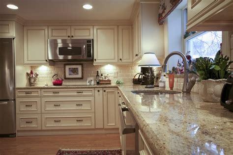 kitchen cabinets light granite santa cecilia granite countertops for a fresh and modern 7910