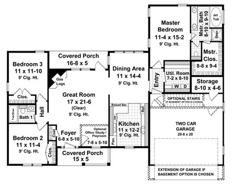 One Story Open House Plans Inspiration by Benefits Of One Story House Plans Interior Design