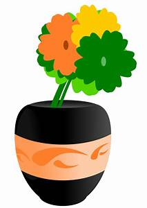 in a vase clip art. | Clipart Panda - Free Clipart Images