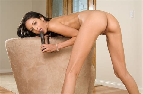 The Frisky Latina Marissa Mendoza Has The Long Dildo For