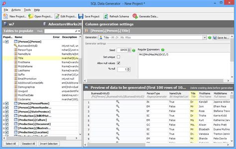 Data Generator For Ms Sql Server