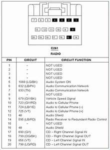 2011 Ford Escape Radio Wiring