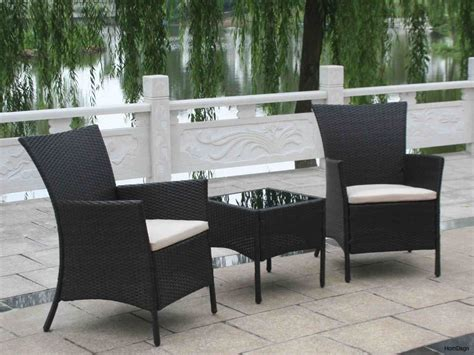White Resin Wicker Set Homecrest Outdoor Furniture Black