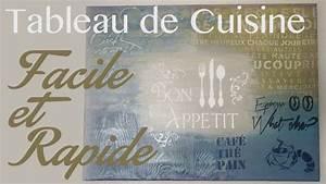 Tableau Pour Cuisine : idees deco peinture facile ~ Teatrodelosmanantiales.com Idées de Décoration