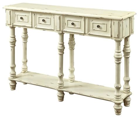 traditional console table  antique white contemporary console tables