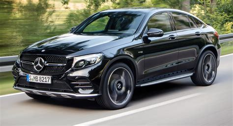 You may kid yourself into thinking you've made a slightly more sensible. New Mercedes-AMG GLC 43 4MATIC Coupe Spices Things Up With Bi-Turbo V6