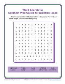 jacob deceived isaac word search children 39 s bible activities sunday school activities for