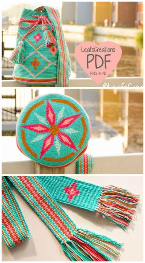 crochet pattern mochila bag  flowers mochila crochet