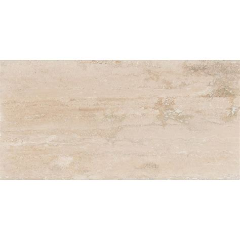 polished travertine ms international roman vein cut 12 in x 24 in polished travertine floor and wall tile 10 sq
