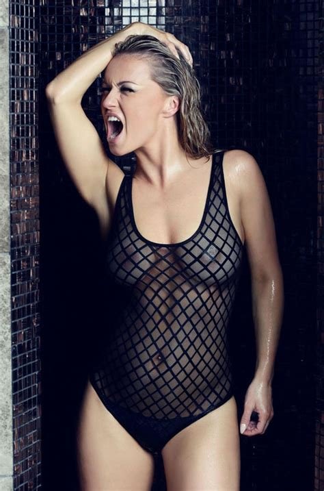 Strictly Come Dancing Babe Ola Jordan Strips Naked For Raunchiest Calendar Shoot Yet Celebrity