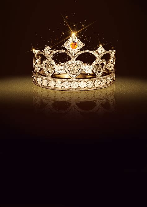 crown cosmetics background poster queen crown diamond