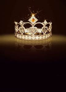 Crown Cosmetics Background Poster, Queen, Crown, Diamond