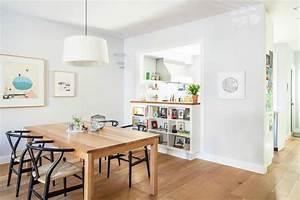 cuisine semi ouverte passe plat et bibliotheque deco With cuisine avec passe plat