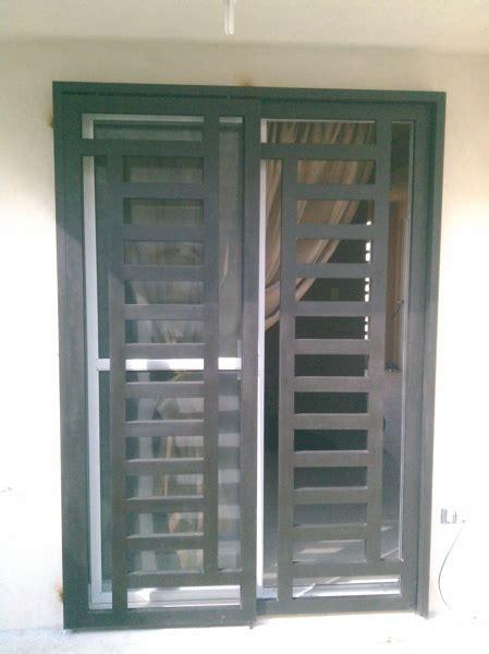 foto puerta corrediza comedor jardin de  door puertas