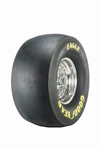 goodyear d1911 tire drag slick competition eliminator With goodyear yellow letter tires