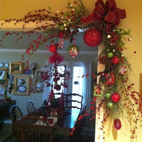door frame decoration christmas christmas decorations