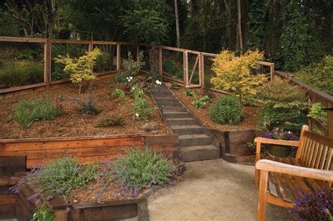 terrace garden landscaping award winning terraced garden landscape san francisco by janet moyer landscaping