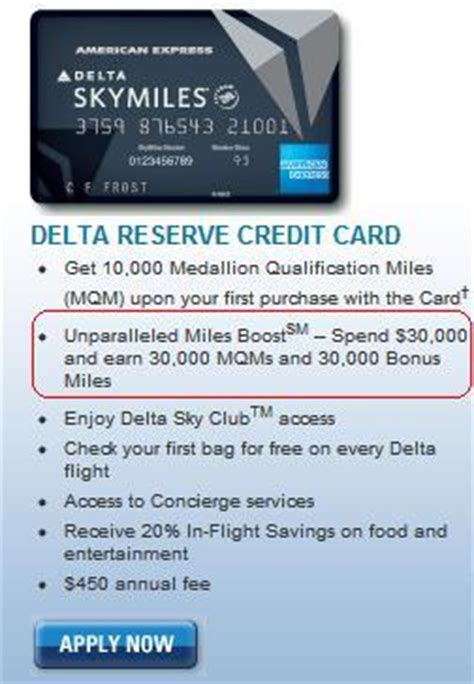 There's a 125k best ever offer now! Delta Reserve Credit Card MQM bonus - Points Miles & Martinis