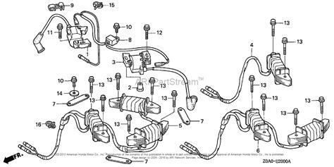 Honda Engines Gxv Qxa Engine Jpn Vin Gjarm