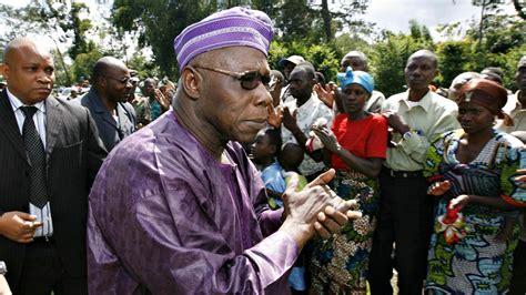 Former President Obasanjo Excoriates Nigeria's Politics