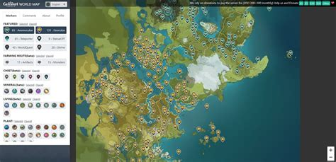 Interactive map of teyvat allows you to find anemoculus, geoculus, waypoints, regional specialties, chests, and more for genshin impact. :: Thisisgame Thailand :: Interactive Map แผนที่ที่จะทำให้ ...