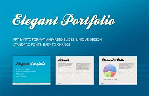 elegant portfolio  template  id