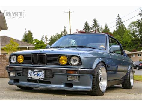 1989 Bmw E30 325i Convertible With Mtech-1 Kit