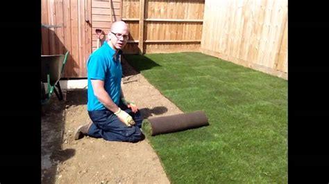 lay turf   lawn youtube