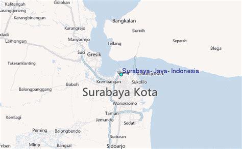 surabaya java indonesia tide station location guide