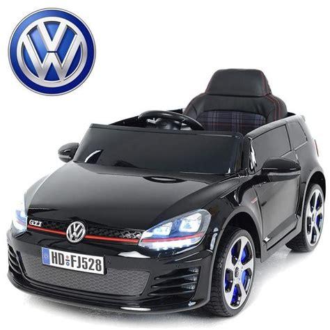 siege golf 1 voiture électrique enfant golf gti 12v siège cuir