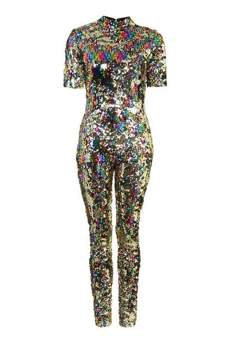 25+ best ideas about Sequin Jumpsuit on Pinterest   Cocktail party outfit Black wide leg ...