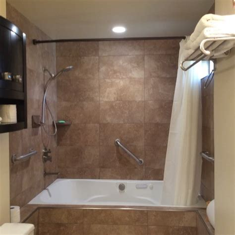 Air Jet Tub Shower Combo by This Luxury Whirlpool Air Bath Is Also A Roomy Shower