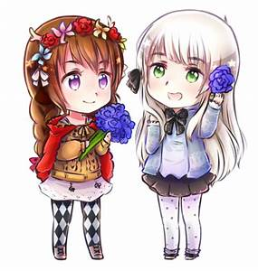 (commission) Best friends by NonexistentWorld on DeviantArt