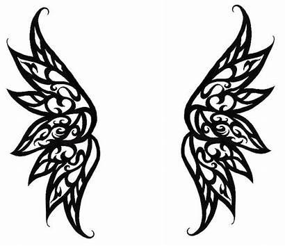 Wings Angel Simple Drawing Tattoo Drawings Designs