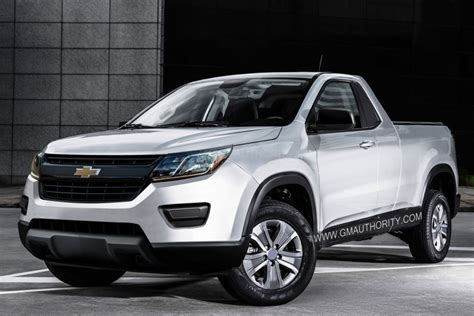 New Chevrolet S10 Small Truck Rendering  Gm Authority