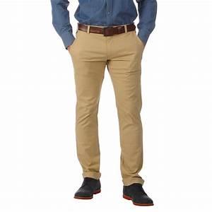 Pantalon Décontracté Homme : pantalon homme chino beige ruckfield ~ Carolinahurricanesstore.com Idées de Décoration