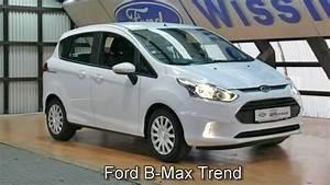 Ford B Max Avis : ford b max trend erjkcy13383 klima new ford b max video ~ Dallasstarsshop.com Idées de Décoration