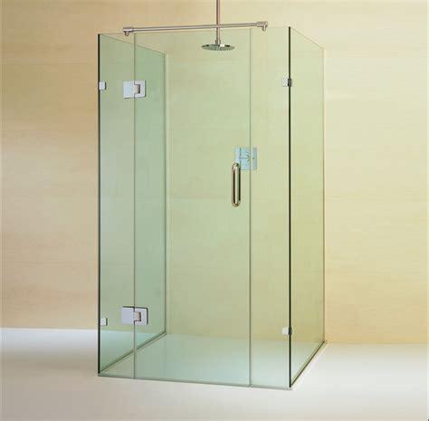 Glass Shower Enclosure Kits by Goldfish Bowl Frameless Glass Enclosure