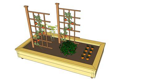 free raised garden bed plans myoutdoorplans free