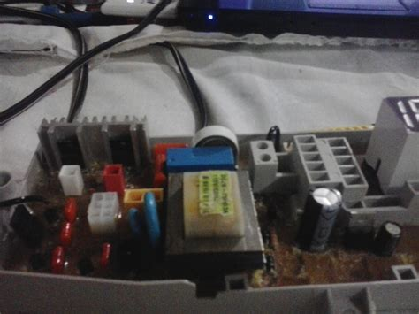 tarjeta electronica de lavadora samsung de 13 5 no