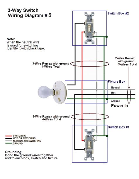 How Wire Three Way Switches Part