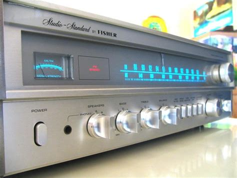 fisher stereo receiver model rs