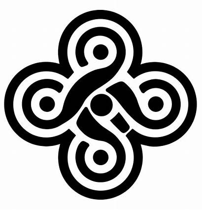 Celtic Knot Fold Five Wolf Teen Symbols