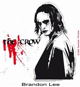 The Crow-Brandon Lee by sheriksillo on DeviantArt