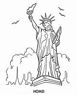 Liberty Statue Coloring Pages Printable Forces Armed Marine Drawing Corps Line Sheets Clipart Activity Colouring Clip Cliparts Az Getdrawings States sketch template