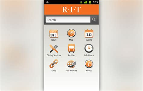 mobile app for android rit unveils apps for android and apple mobile devices