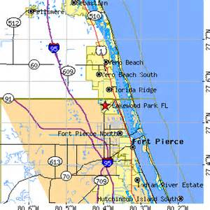 Vero Beach Florida Zip Code Map